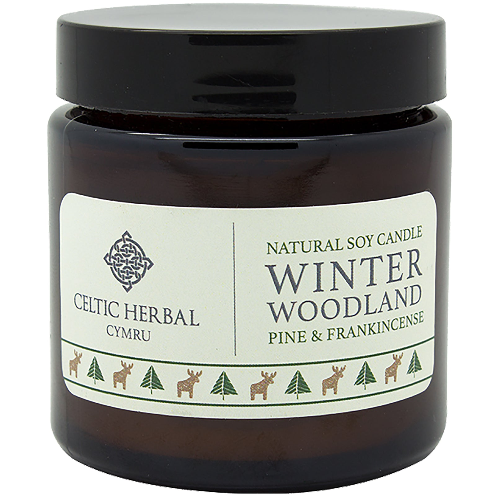 Winter Woodland Soy Candle with Pine & Frankincense