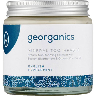 Georganics Mineral Toothpaste English Peppermint Natural Body Care-Image 1