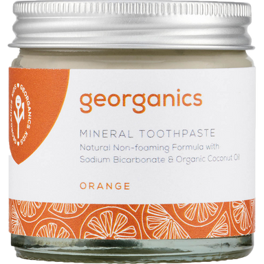 Georganics Mineral Toothpaste Orange Natural Body Care-Image 1
