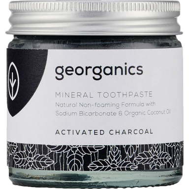 Georganics Mineral Toothpaste Activated Charcoal Natural Body Care-Image 1