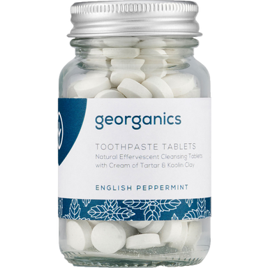 Georganics Toothpaste Tablets English Peppermint Natural Body Care-Image 1