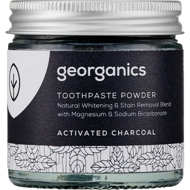 Georganics Toothpaste Powder Activated Charcoal Natural Body Care-Image 1