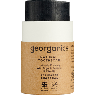 Georganics Toothsoap Activated Charcoal Natural Body Care-Image 1