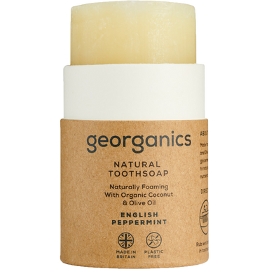 Georganics Toothsoap English Peppermint Natural Body Care-Image 1