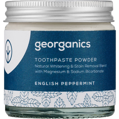 Georganics Toothpaste Powder English Peppermint Natural Body Care-Image 1
