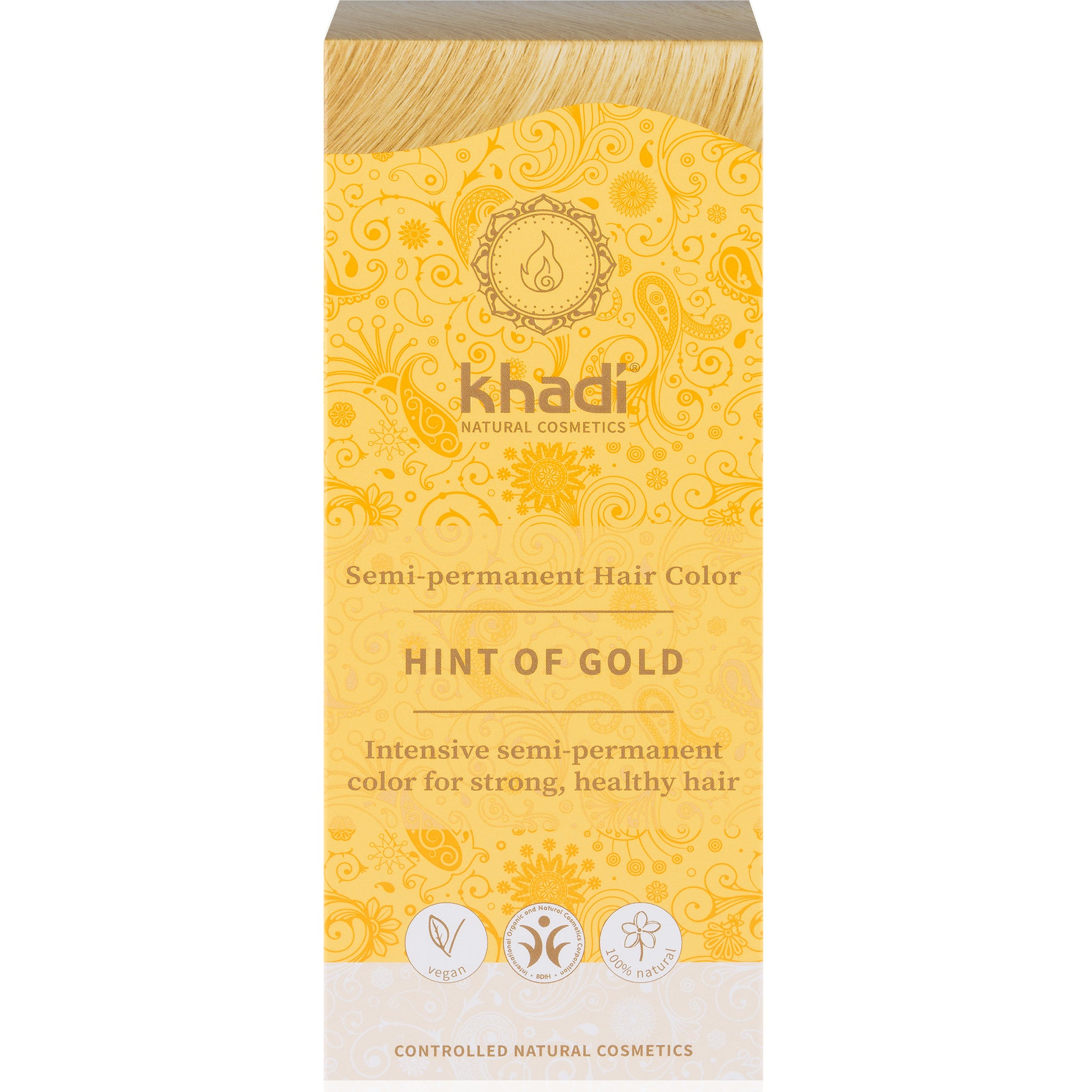 Herbal Hair Colour Blonde - Hints of Gold