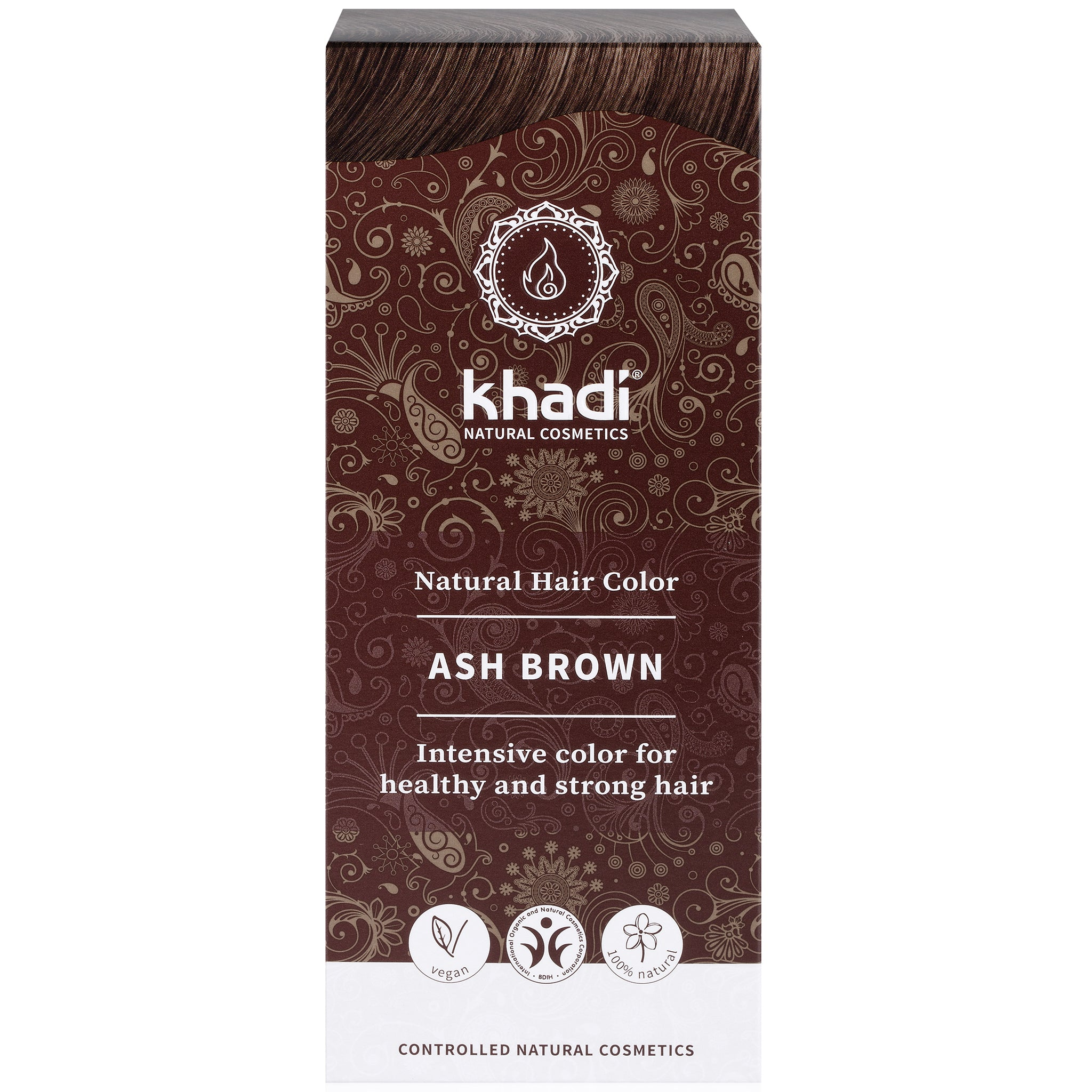 Herbal Hair Colour - Ash Brown