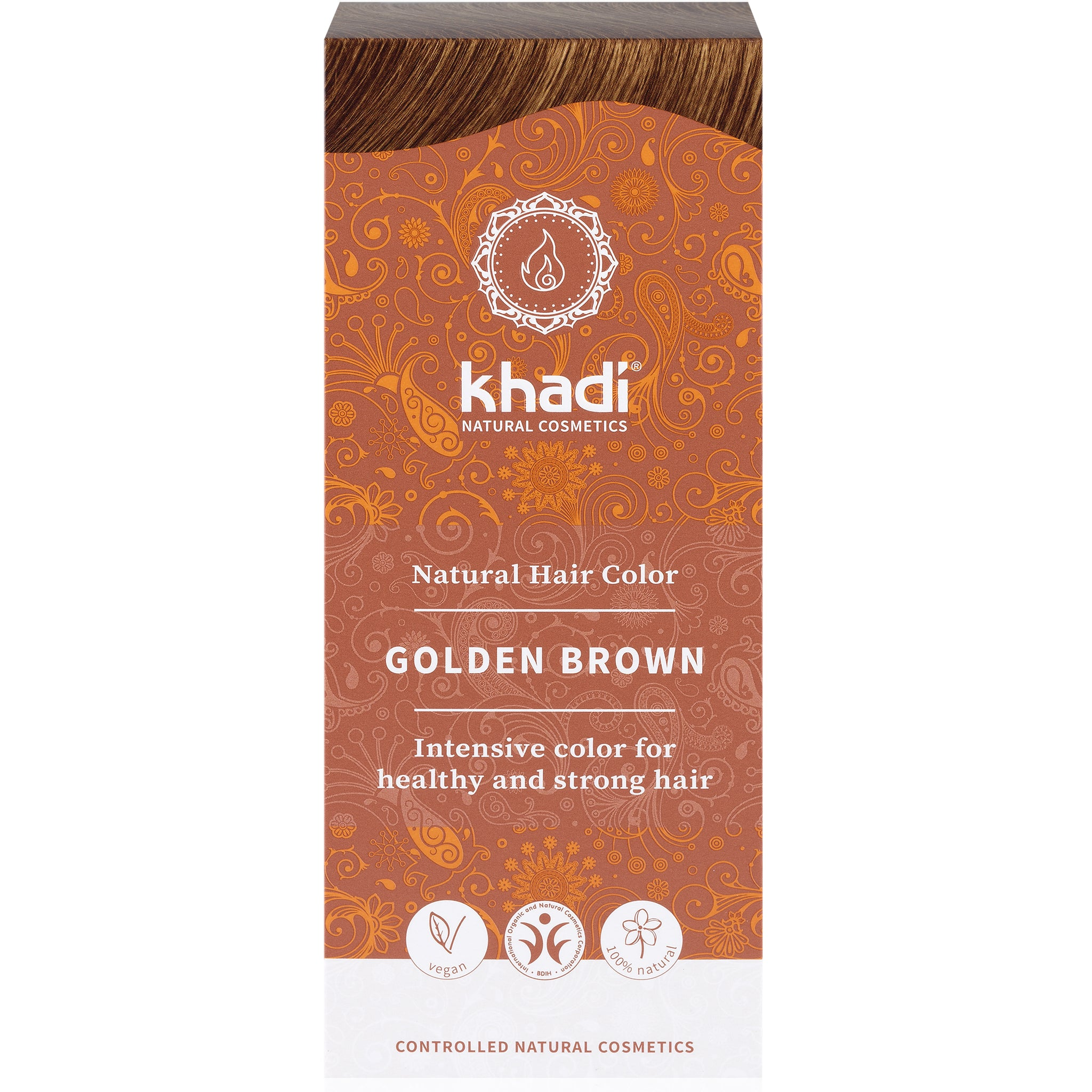 Herbal Hair Colour - Golden Brown