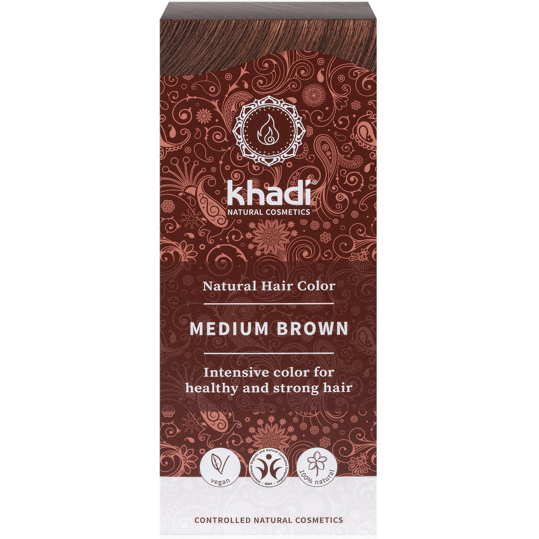Herbal Hair Colour - Medium Brown