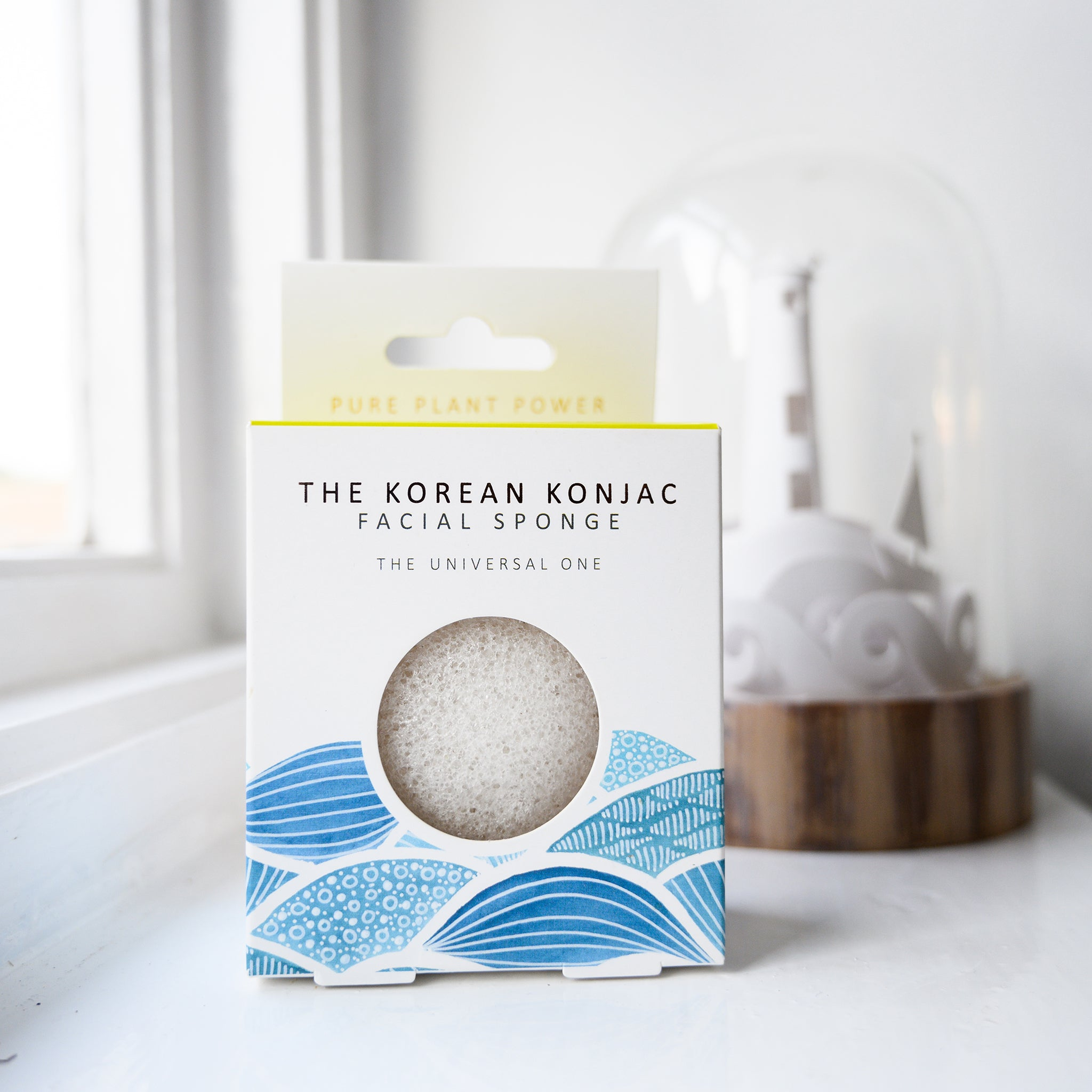 The Elements Water with 100% Pure White Konjac Facial Sponge