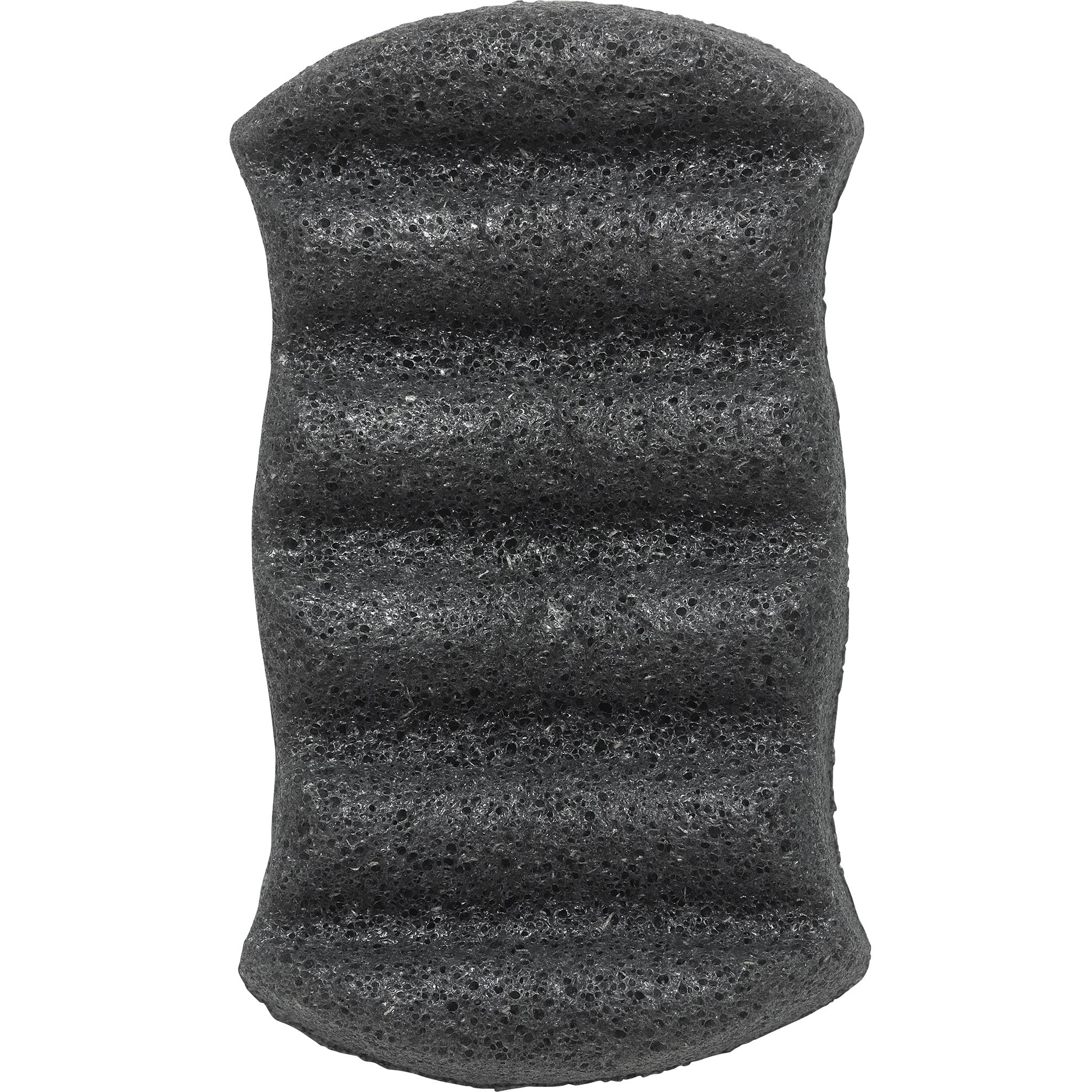 Konjac 6 Wave Body Sponge With Bamboo Charcoal