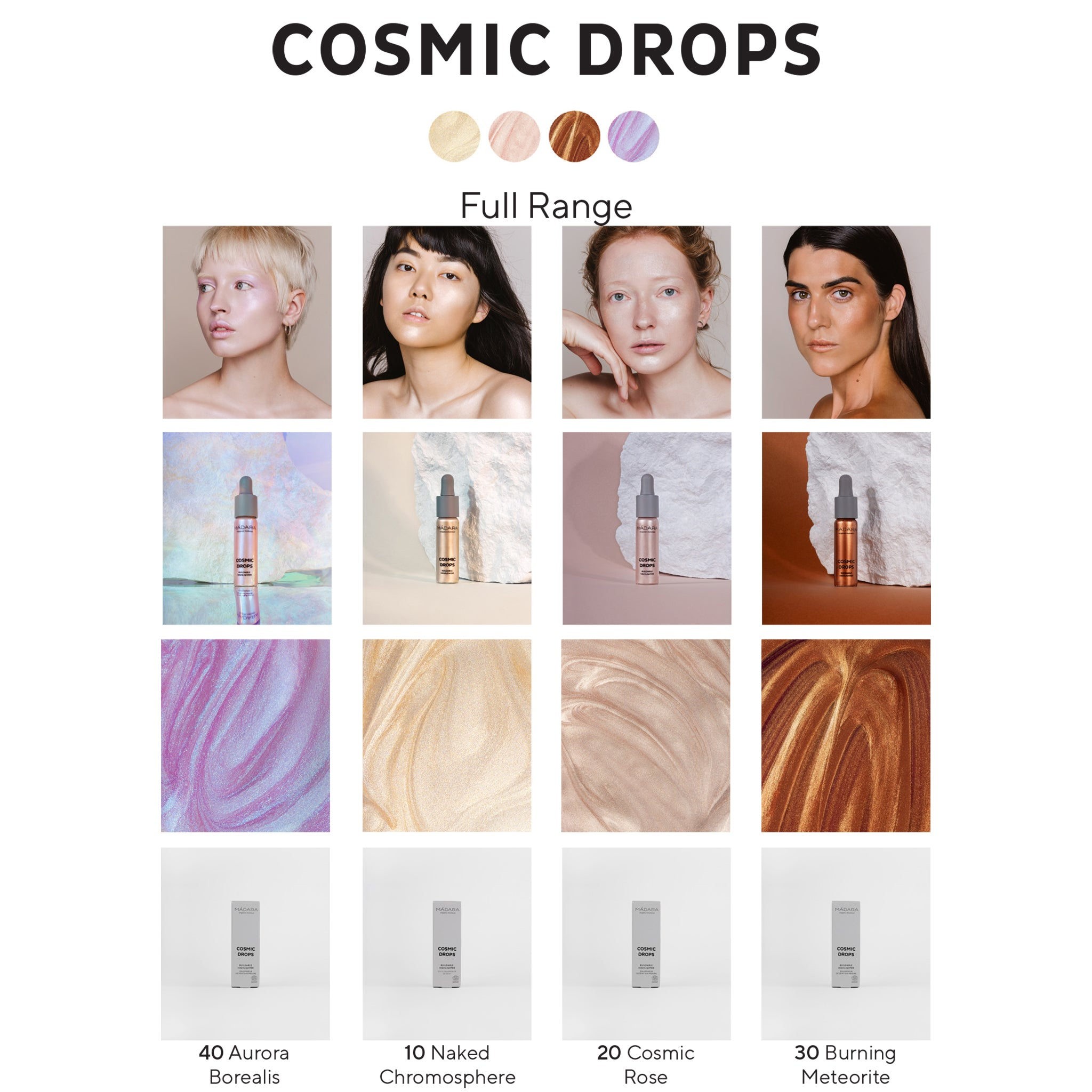 Cosmic Drops - Buildable Highlighter Sample