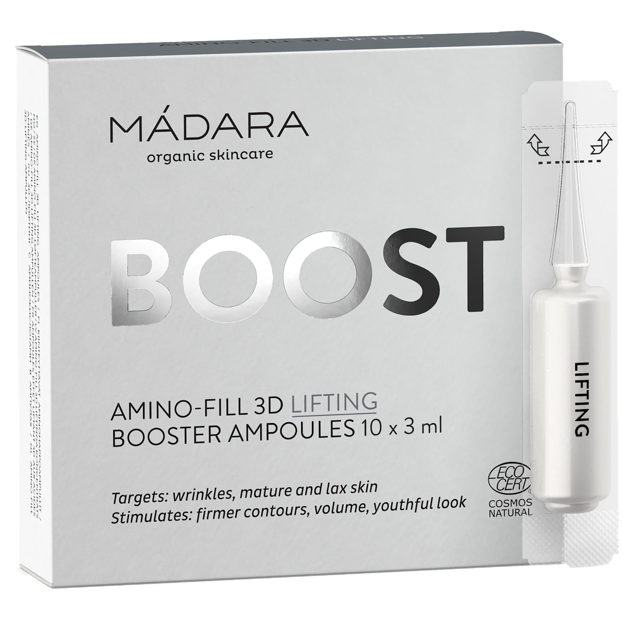 Amino-Fill 3D lifting Booster Ampoules (PRODUCT EXPIRY END Nov 2020)
