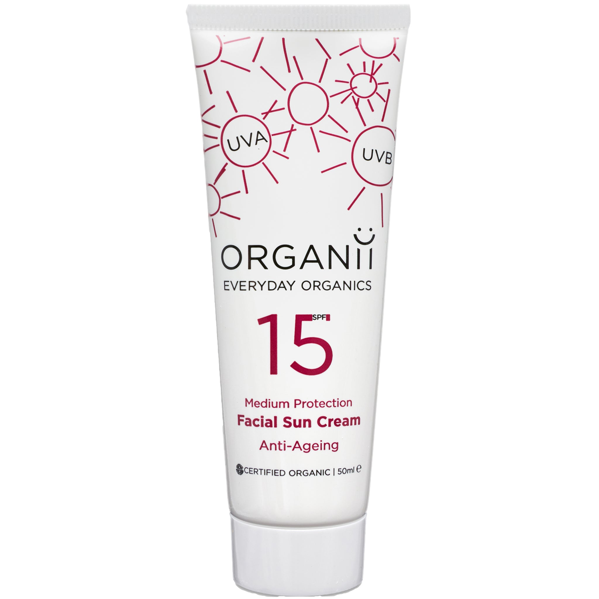 SPF15 Anti Ageing Facial Sun Cream