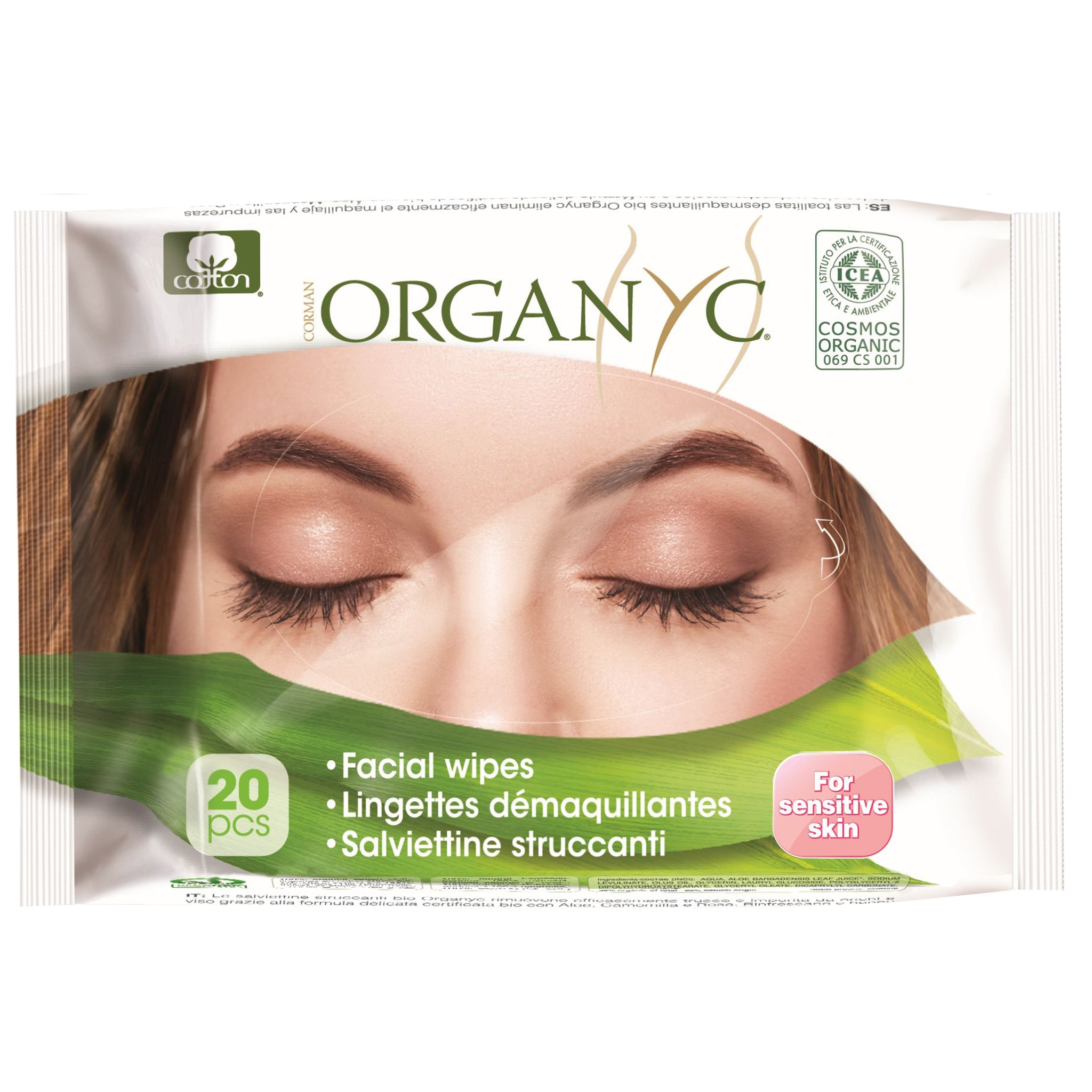 Organ(y)c Beauty Facial Wipes