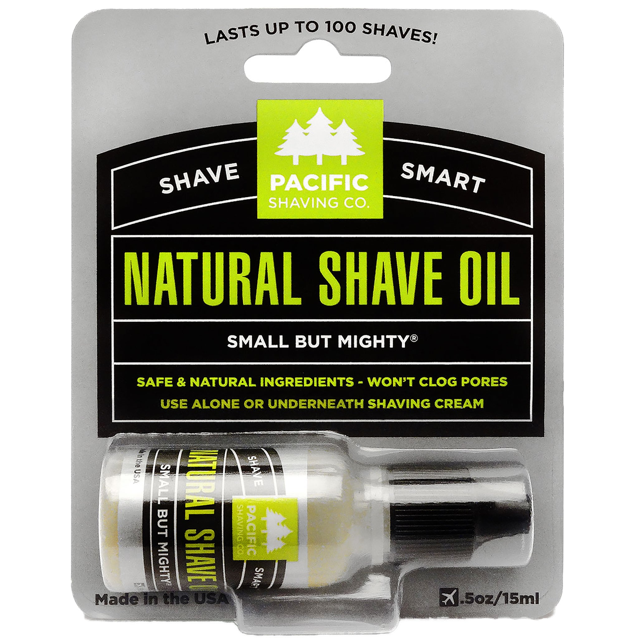 All Natural Shaving Oil