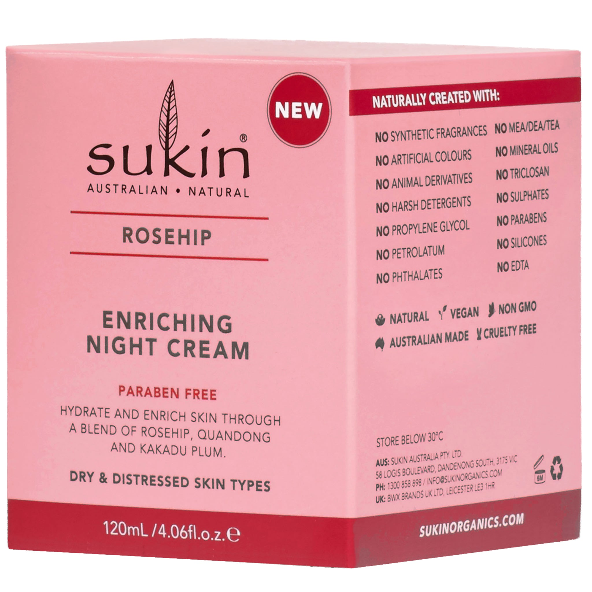 Rosehip Enriched Night Cream