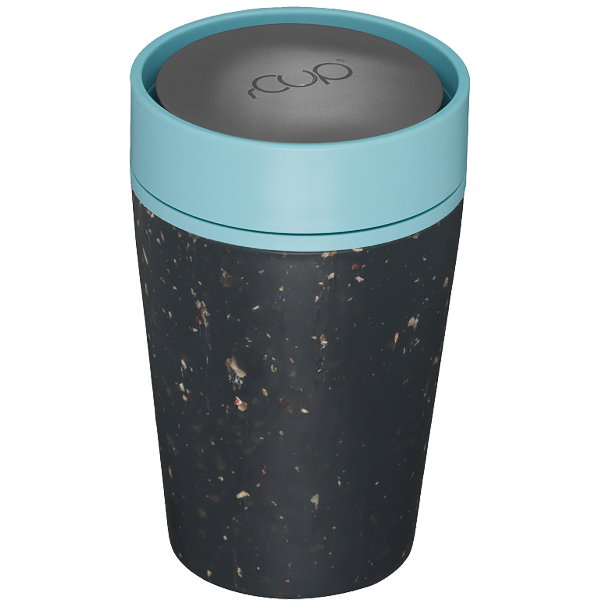 rCUP - Black & Teal 8oz