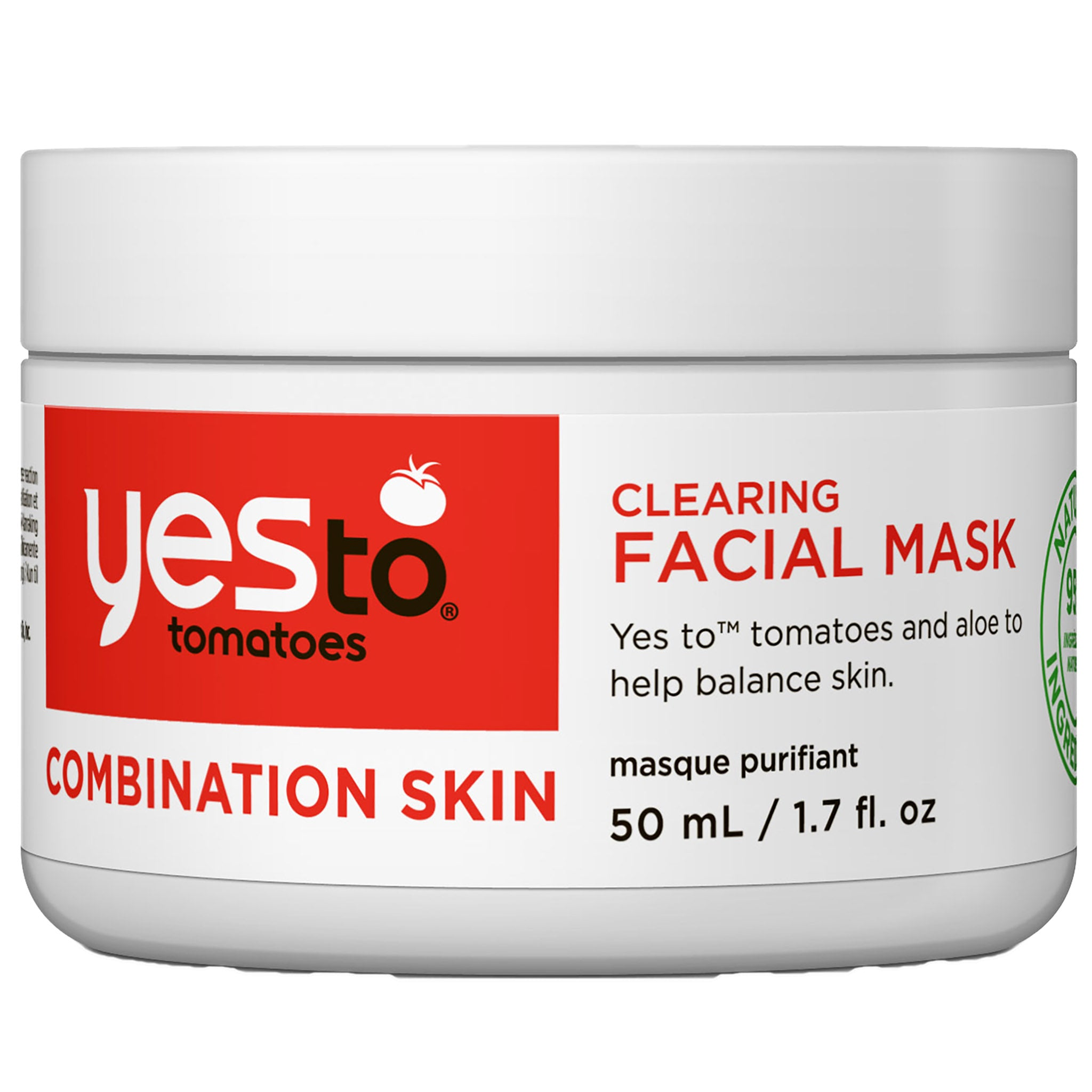 Combination Skin Clearing Facial Mask