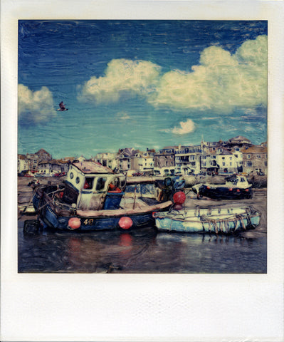 Waiting For The Tide | Polaroid Reproduction