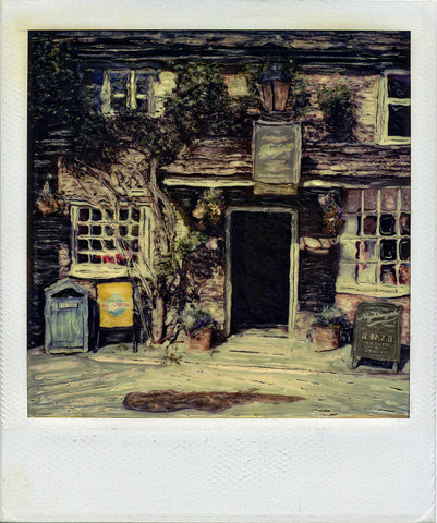 Storefront - Lacock England | Polaroid SX-70 Reproduction