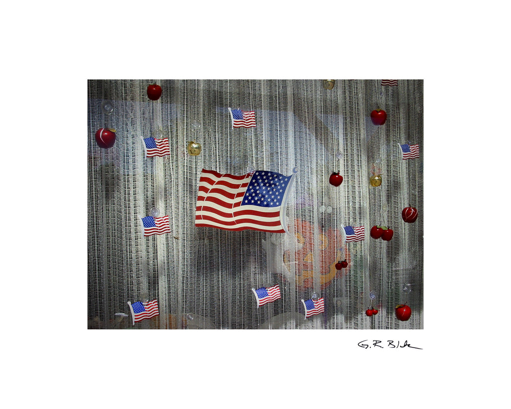 Flags & Apples | Digital Fine Art Print