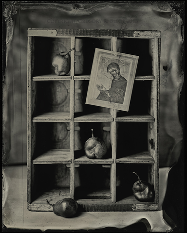 Icon & Pears | TinType Reproduction