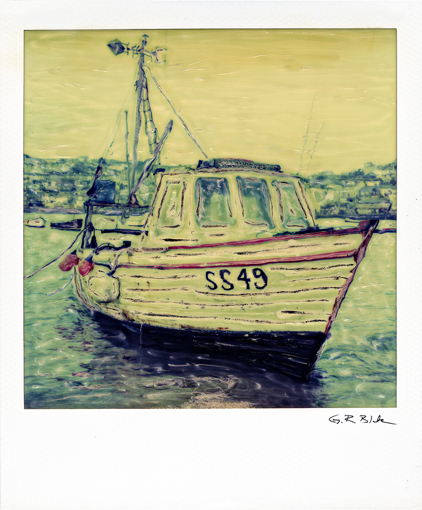 SS 49 - Saint Ives Harbor | Polaroid Reproduction