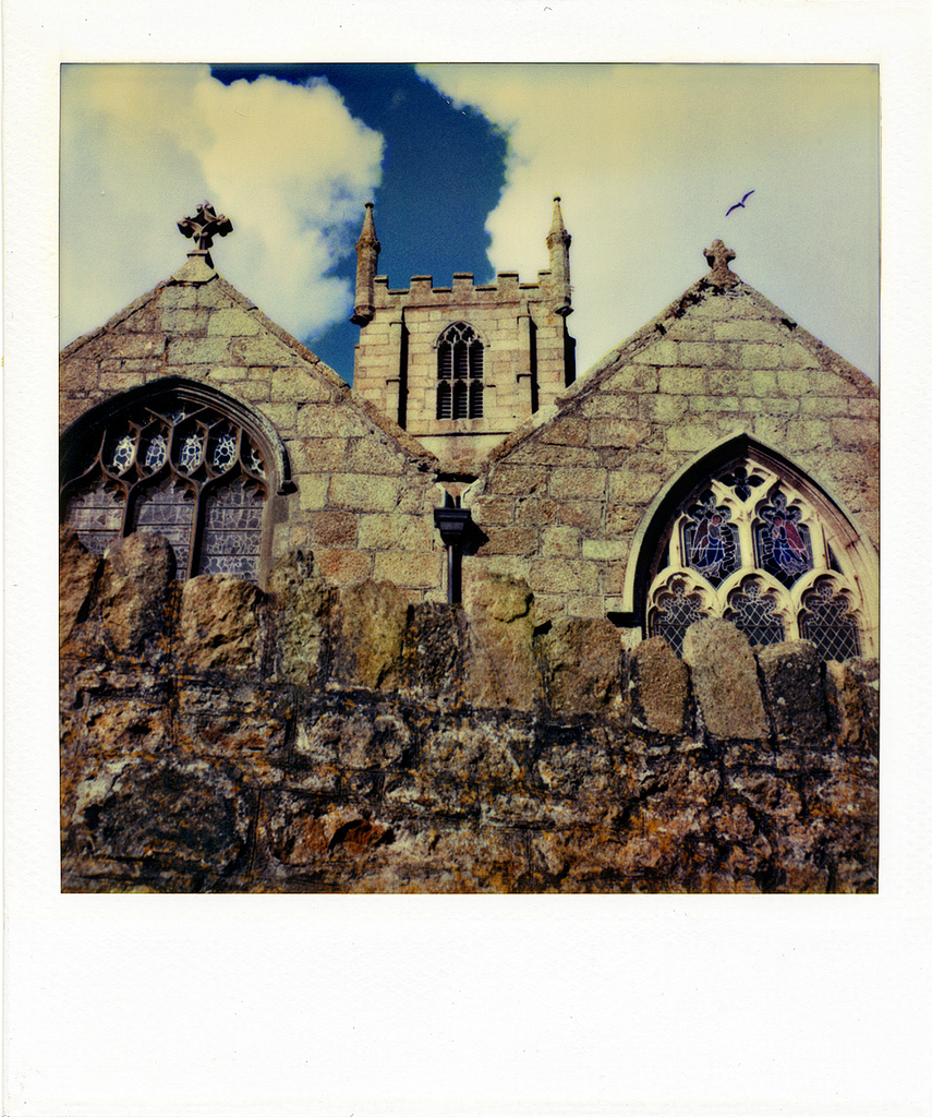 Saint Ives Parish Chruch | Polaroid Reproduction