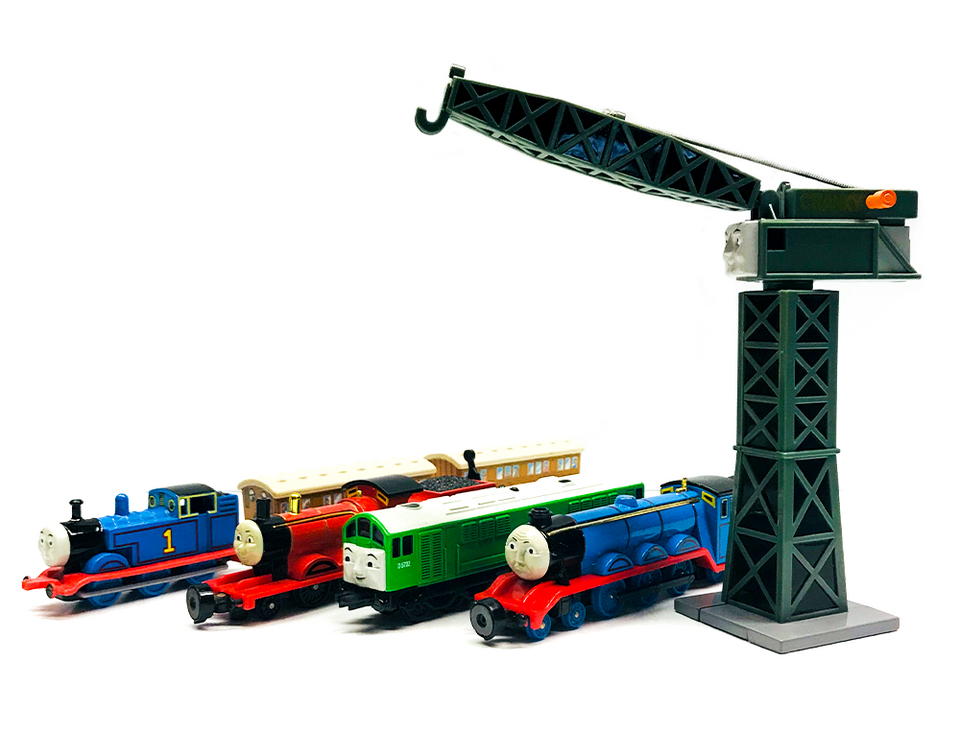 ERTL & BANDAI TRAINS