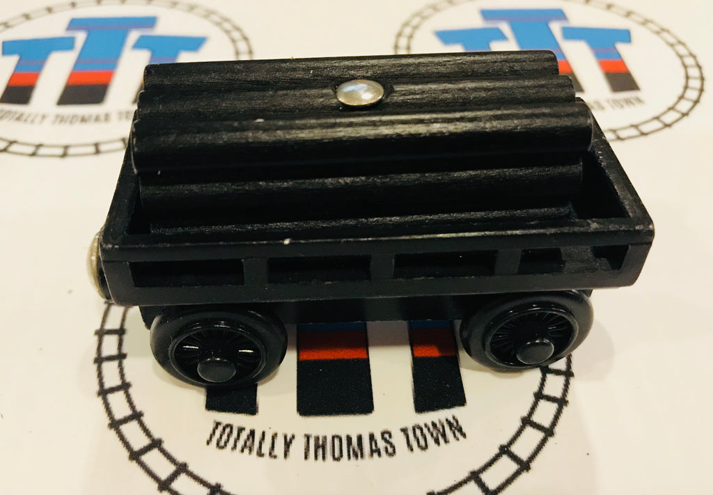 Black Cargo Car with Other Brand Black Cargo Wooden - Used - Totally Thomas Town