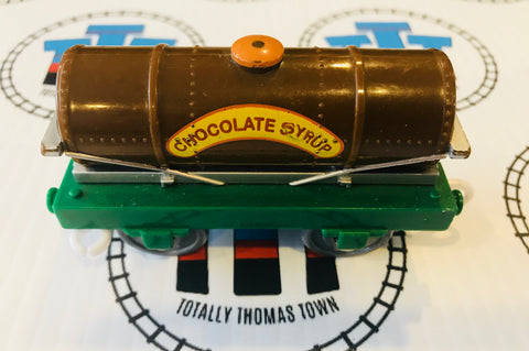 Chocolate Syrup Tanker Used - Trackmaster - Totally Thomas Town