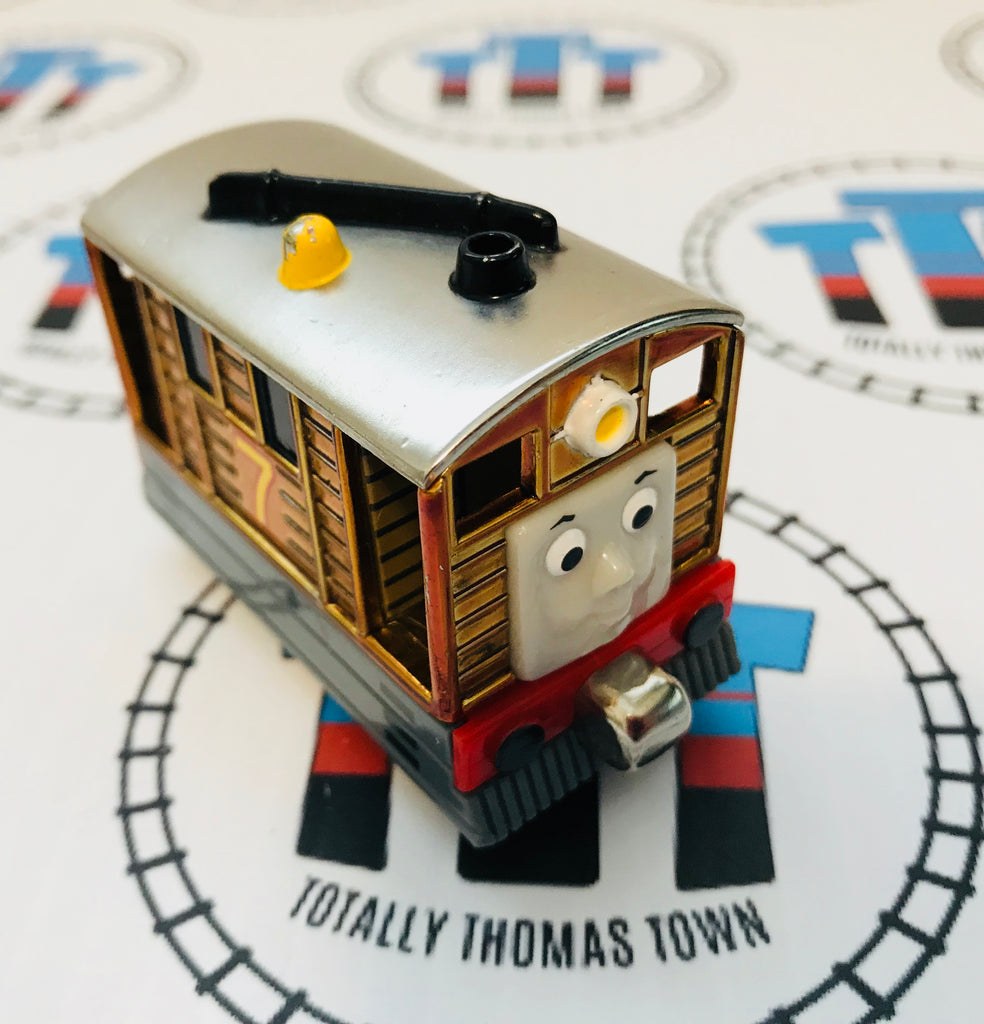 Limited Edition Metallic Toby (2002) Good Condition Used - Take N Play - Totally Thomas Town