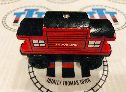 Sodor Line Caboose (2000) Rare Good Condition Wooden - Used
