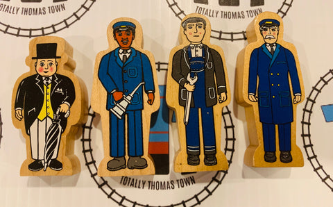 Thomas Wooden People Pack Wooden - Used