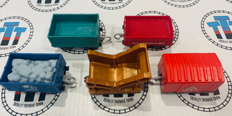 Cargo Cars Used - Trackmaster