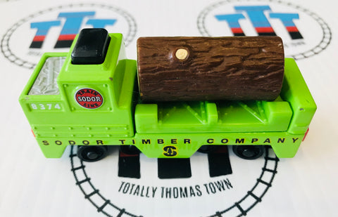 Sodor Timber Car with Cargo (2003) Used - Take N Play - Totally Thomas Town