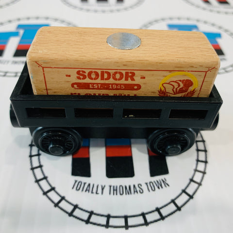 Sodor Flour Mill Cargo Car and Cargo (2012) Good Condition Wooden - Used