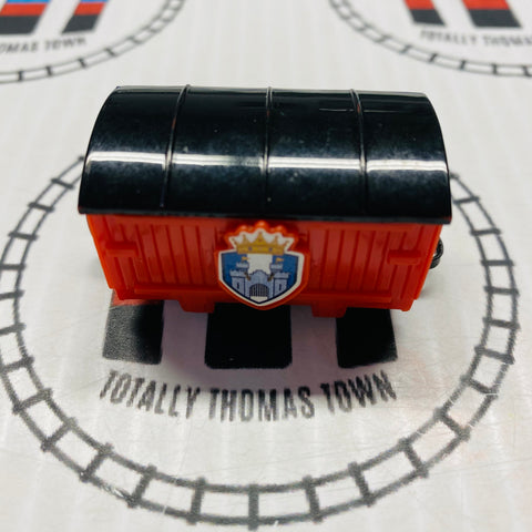 Ulfstead Red Castle Box Car Pull Along Capsule Plarail - Used