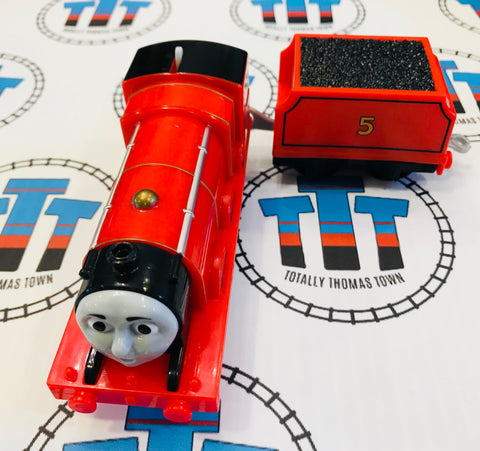 James & Tender (2013) Very Good Condition Used - Trackmaster - Totally Thomas Town