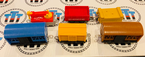 Cargo Pack 6 Pieces Used - Trackmaster