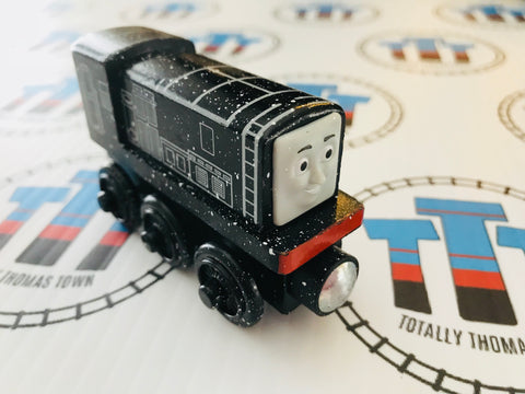 Snow Covered Diesel (2012) Very Good Condition Wooden - Used - Totally Thomas Town