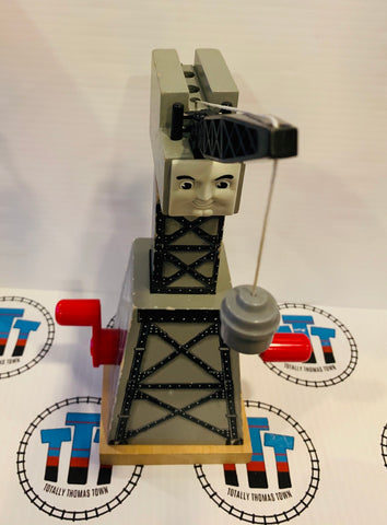 Cranky the Crane Grey Good Condition Wooden - Used
