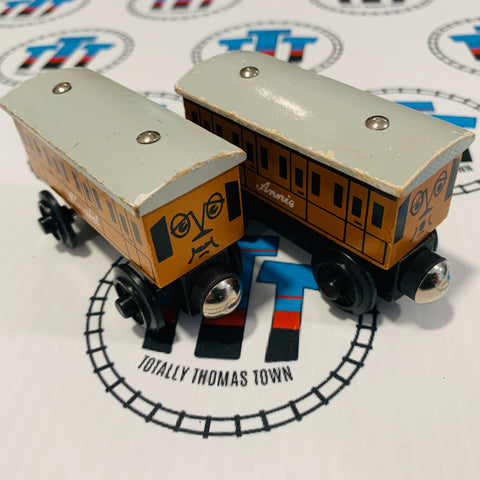Annie & Clarabel (1996) Rare Wooden - Used