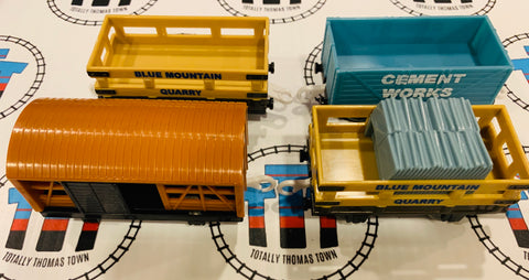 Cargo Pack 4 Pieces Used - Trackmaster