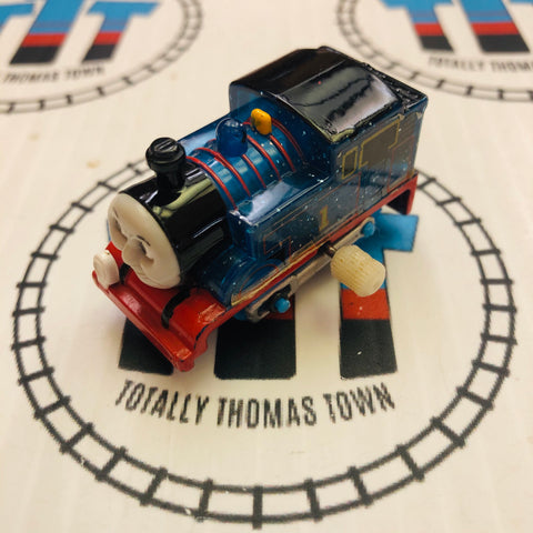 Clear Glitter Thomas Capsule Plarail Wind Up - Used
