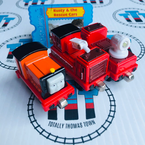 Rusty & the Rescue Cars (2004) Very Good Condition - Take N Play
