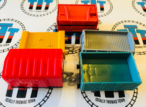 Cargo Pack 5 Pieces Used - Trackmaster - Totally Thomas Town