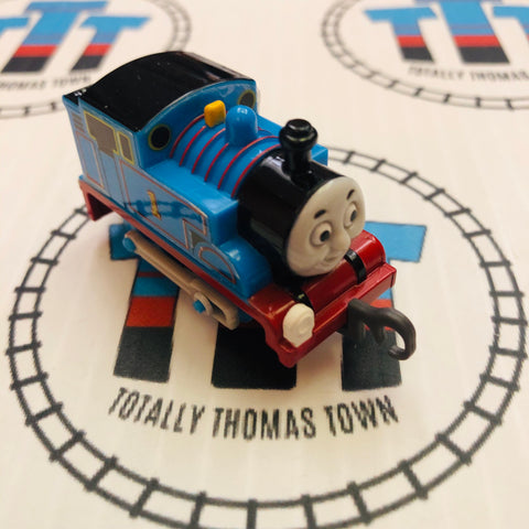 Thomas (Missing Front Sticker) Pull Along Capsule Plarail - Used