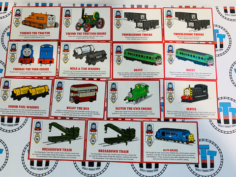 Character Card Pack 15 Pieces ERTL - Used